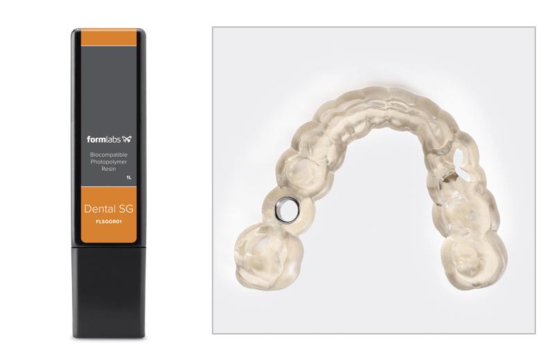 歯科用3Dプリンター Form2 樹脂&サージカルガイド