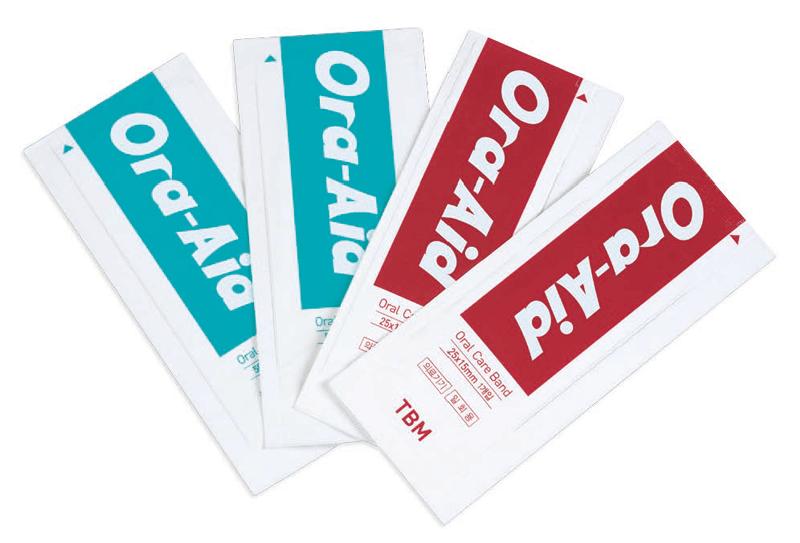 口腔内創傷保護パッド Ora-Aid(オーラエイド)