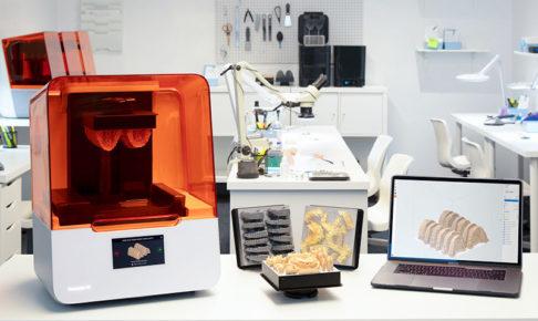 進化した歯科用小型3Dプリンター【Form3(フォームスリー)】